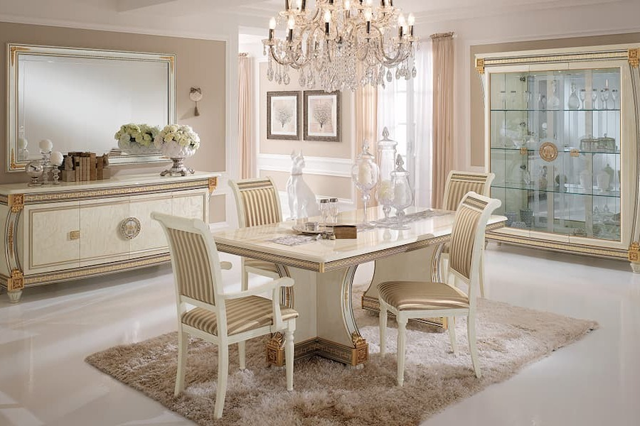 Classic Italian style: design your dining room with Arredoclassic Collections