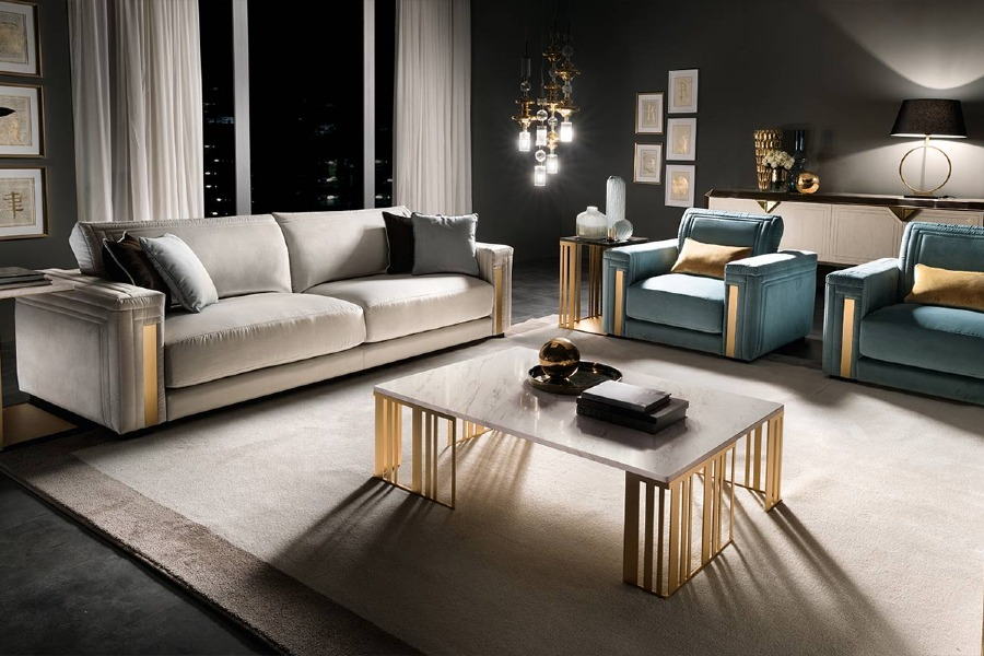 10 Ways to create a warm contemporary living room