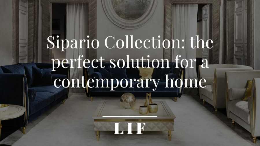 Sipario Collection: the perfect solution for a contemporary home